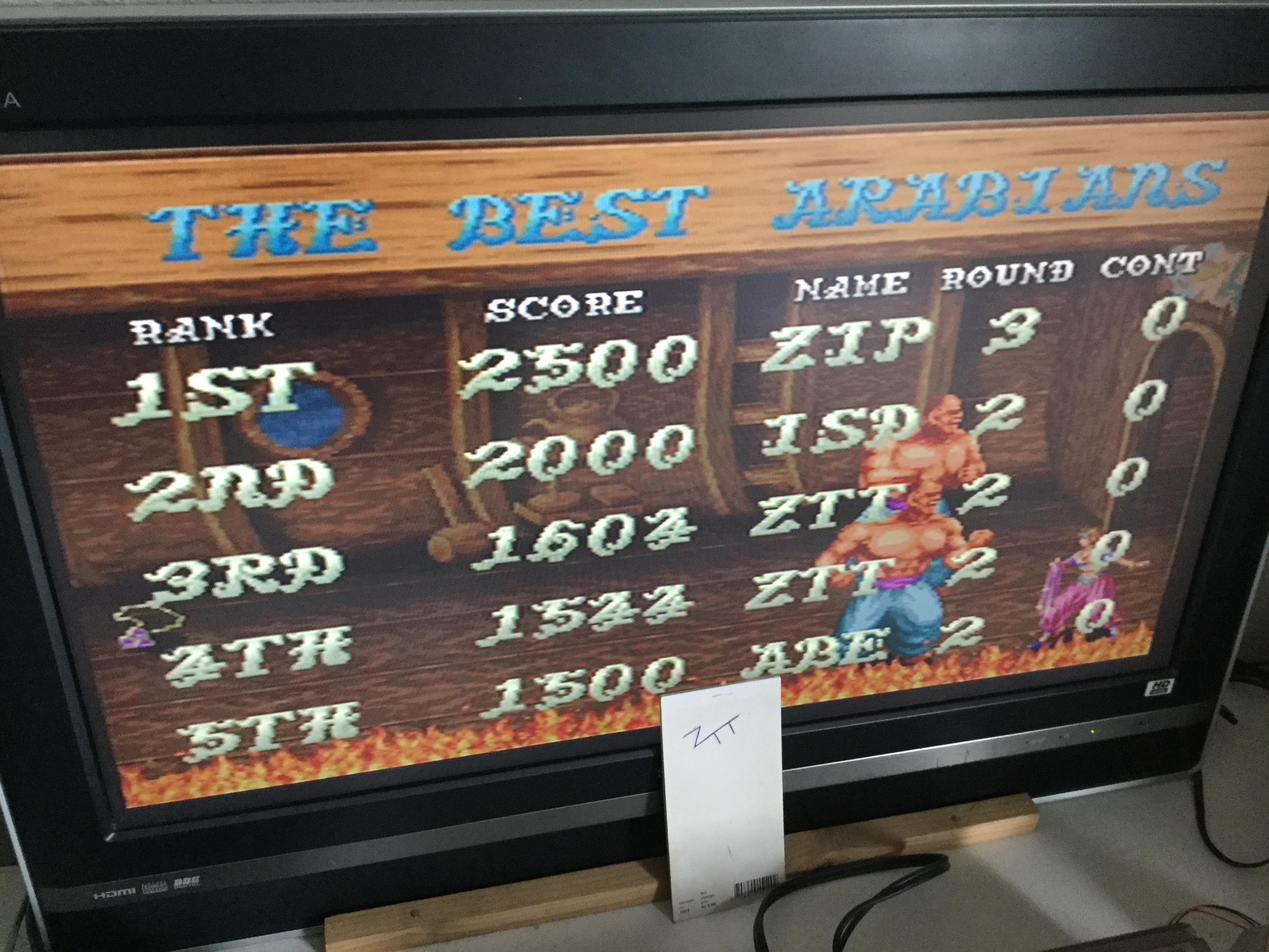Frankie: Taito Legends 2: Arabian Magic [Medium] (Playstation 2) 1,604 points on 2018-01-01 04:37:31