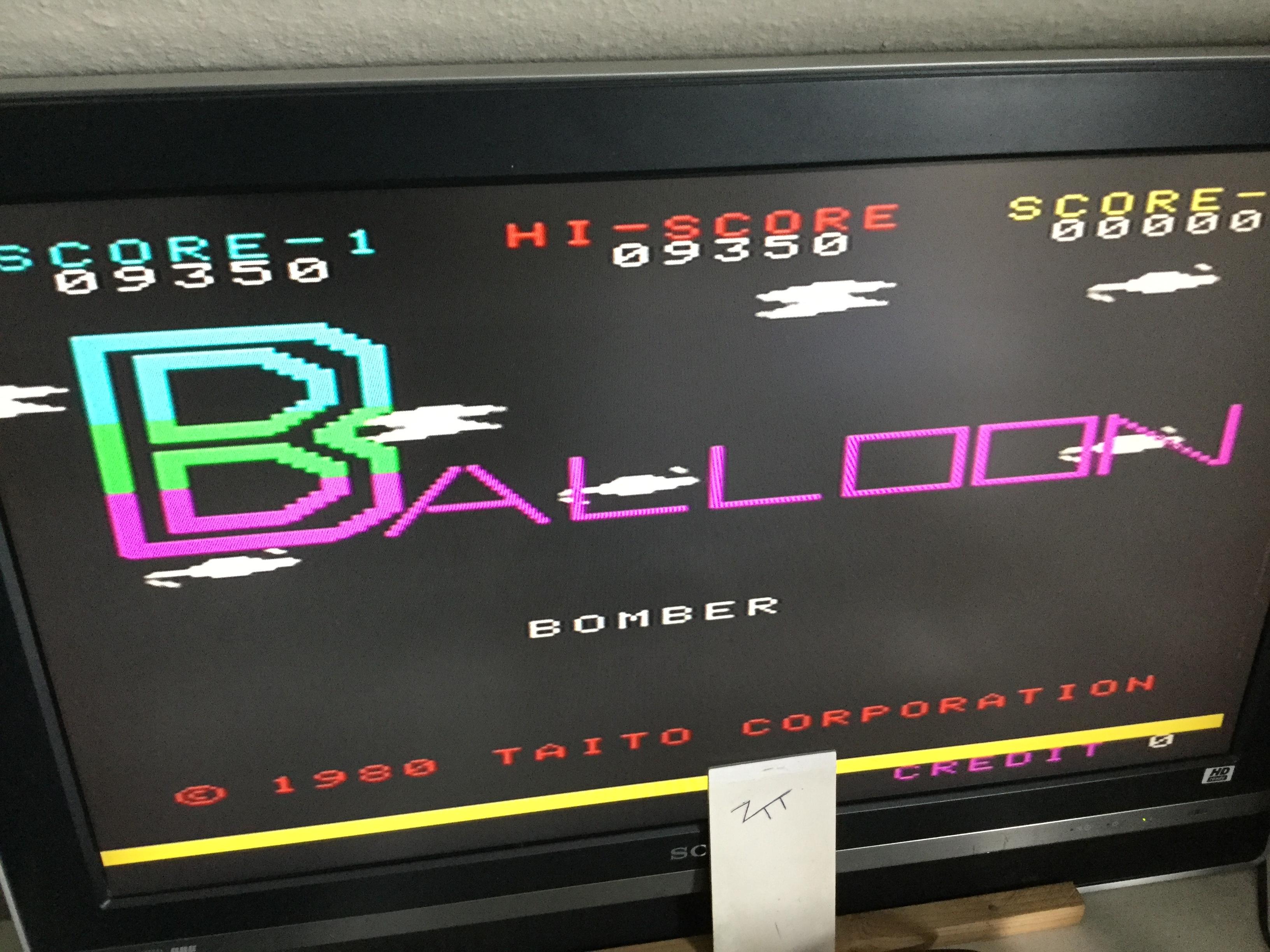 Frankie: Taito Legends 2: Balloon Bomber [Medium] (Playstation 2) 9,350 points on 2018-01-01 05:09:48