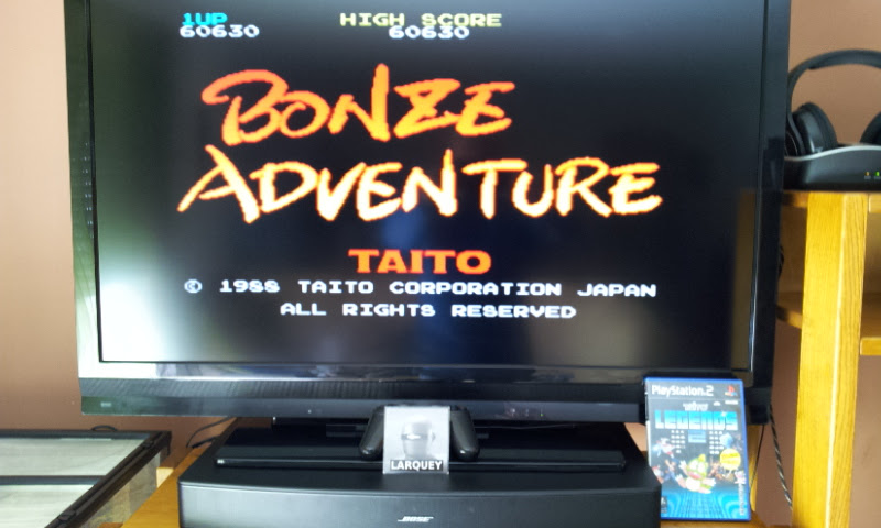 Larquey: Taito Legends 2: Bonze Adventure [Easy] (Playstation 2) 60,630 points on 2017-04-28 04:42:43