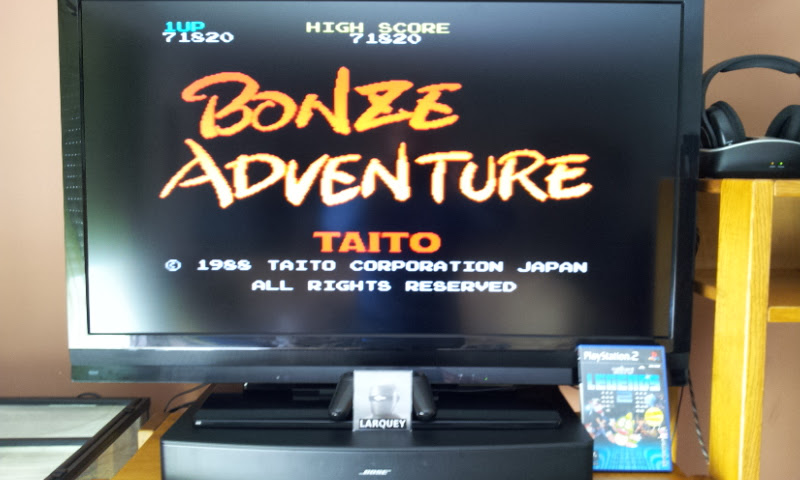 Larquey: Taito Legends 2: Bonze Adventure [Medium] (Playstation 2) 71,820 points on 2017-04-28 04:46:32