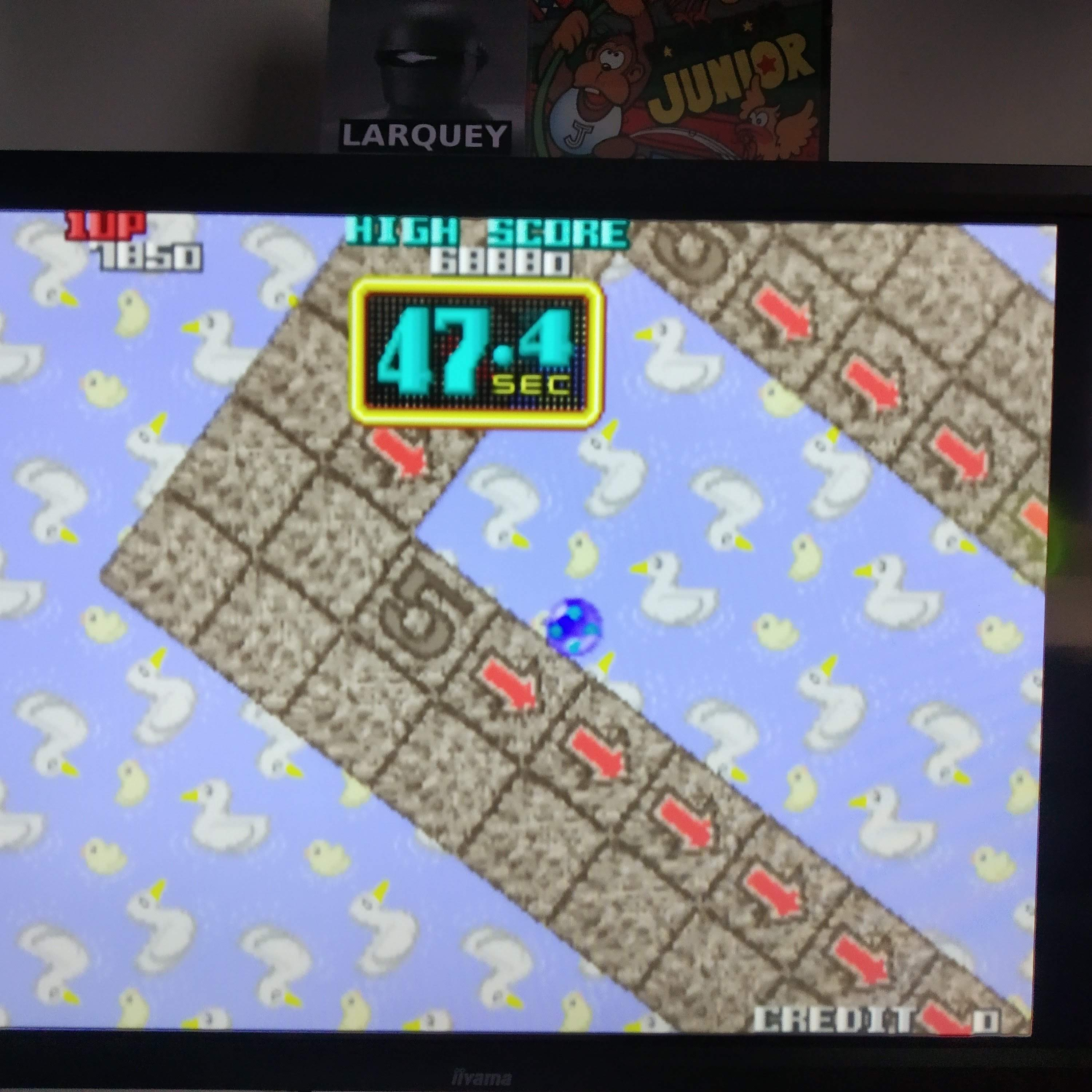 Larquey: Taito Legends 2: Cameltry [Medium] [Special Course] (Playstation 2 Emulated) 7,850 points on 2020-08-10 03:00:46
