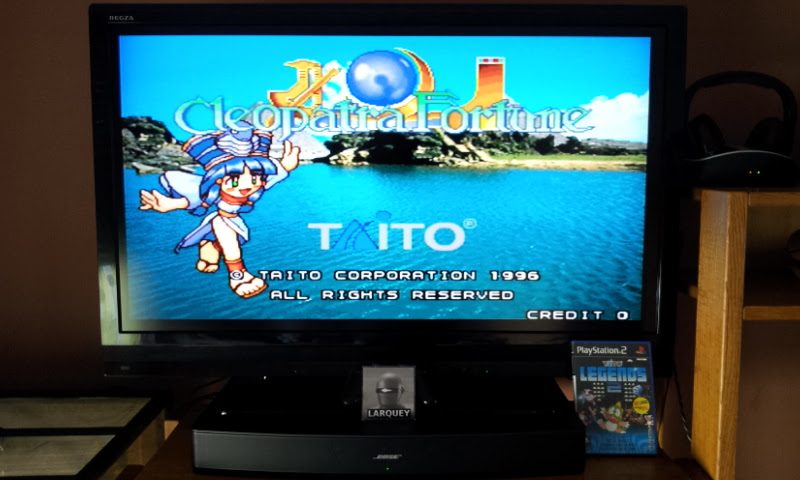 Larquey: Taito Legends 2: Cleopatra Fortune [Medium] (Playstation 2) 141,170 points on 2017-04-28 09:37:20
