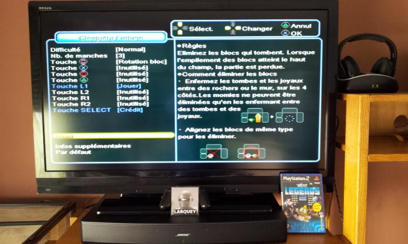 Larquey: Taito Legends 2: Cleopatra Fortune [Medium] (Playstation 2) 141,170 points on 2017-04-28 09:37:20