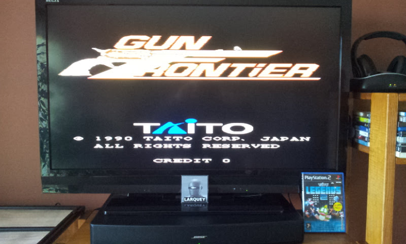 Larquey: Taito Legends 2: Gun & Frontier [Medium] (Playstation 2) 32,530 points on 2017-12-15 10:06:46