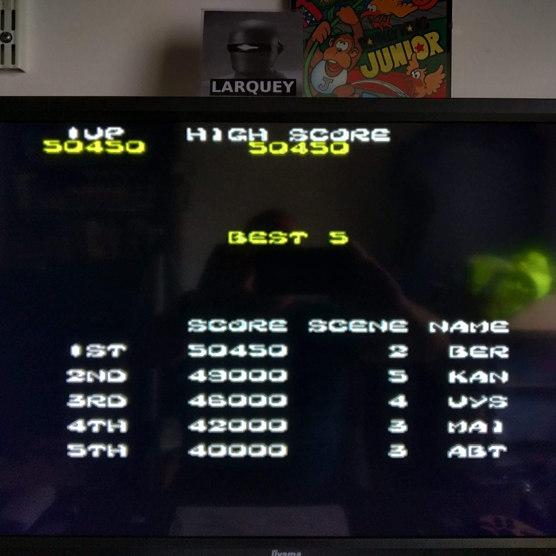 Larquey: Taito Legends 2: Ki Ki Kai Kai [Easy] (Playstation 2 Emulated) 50,450 points on 2020-08-09 06:42:05