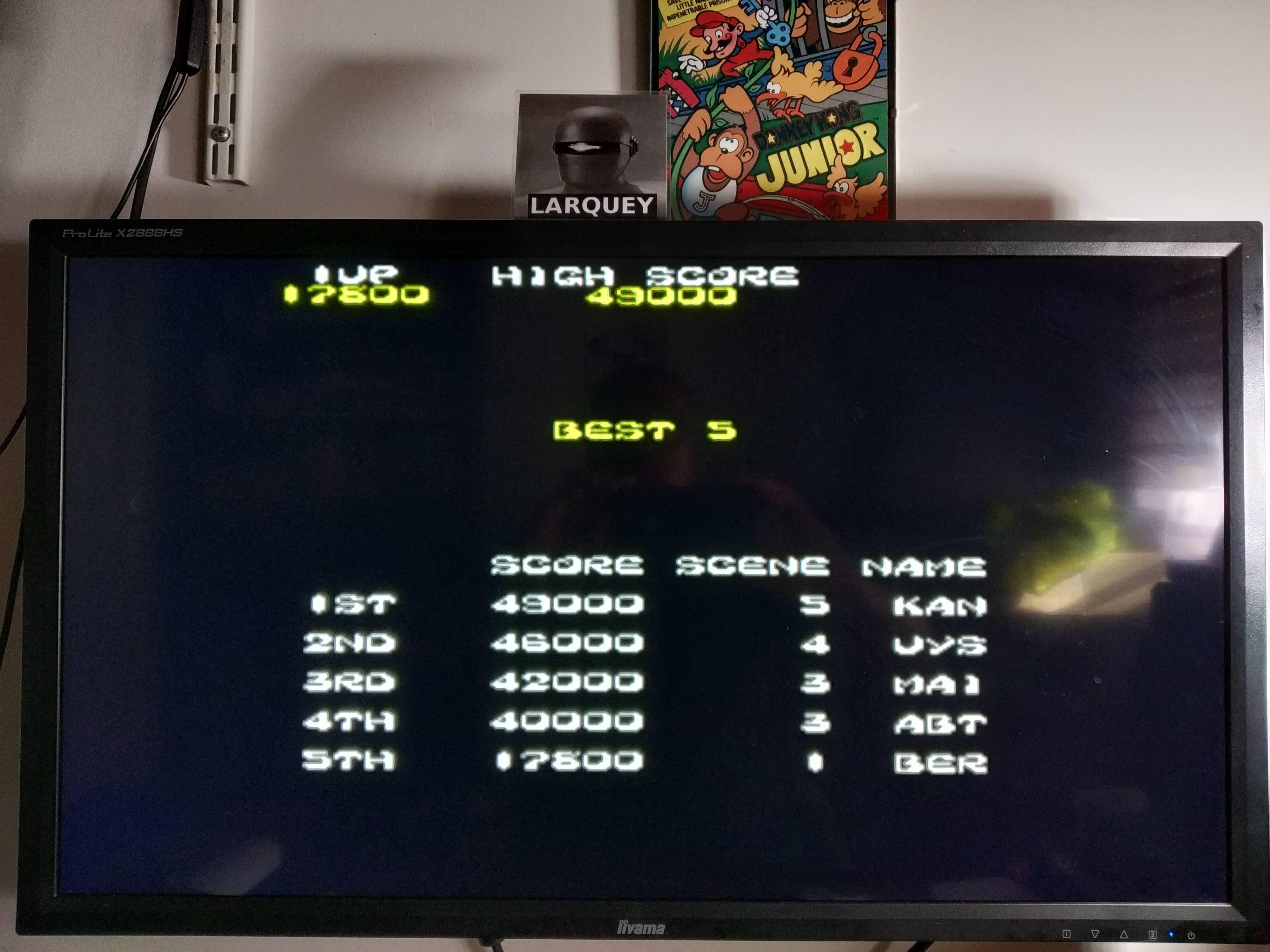 Larquey: Taito Legends 2: Ki Ki Kai Kai [Medium] (Playstation 2 Emulated) 17,800 points on 2020-08-04 16:15:53