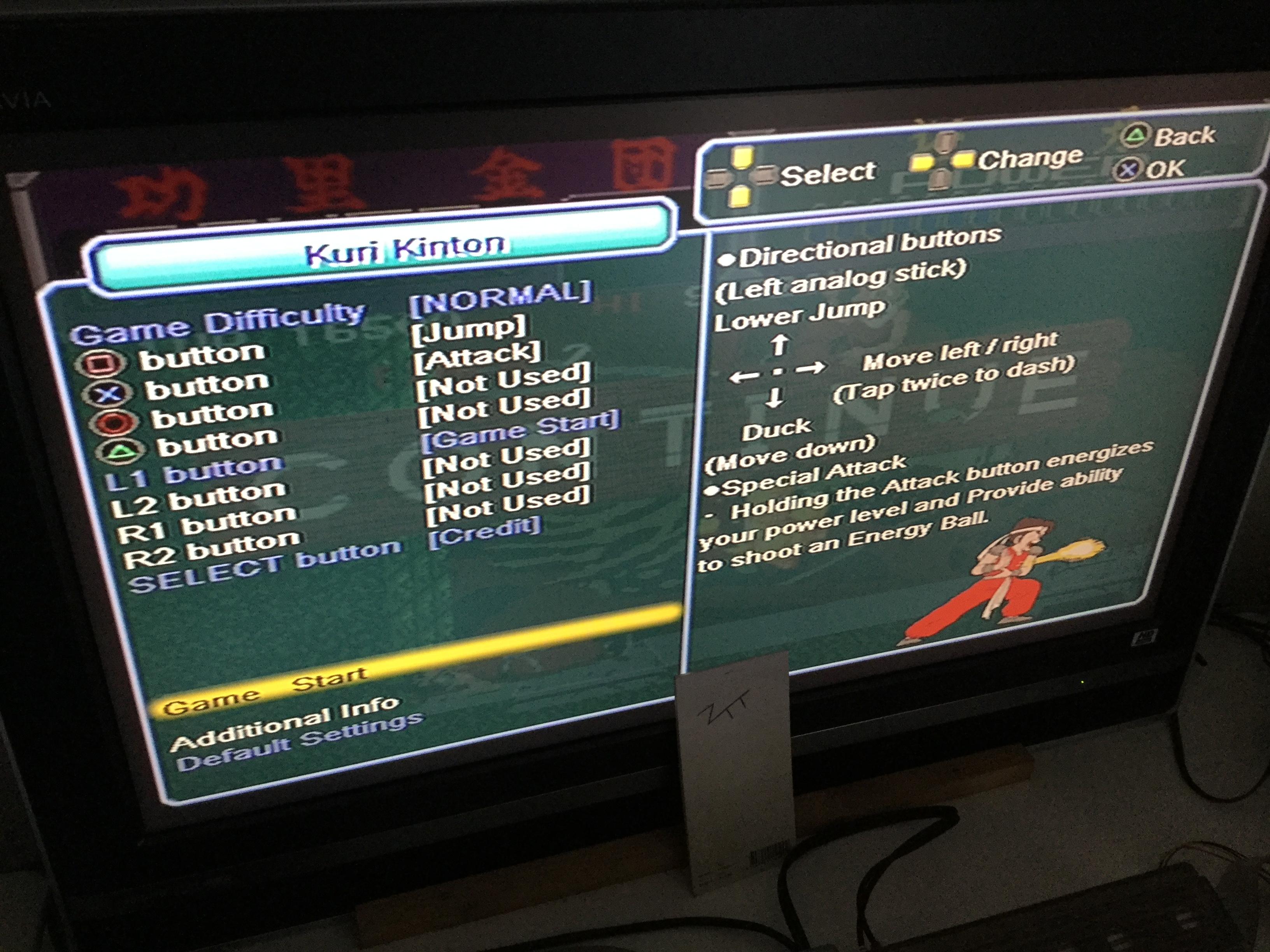 Frankie: Taito Legends 2: Kuri Kinton [Medium] (Playstation 2) 17,000 points on 2018-01-04 07:19:42
