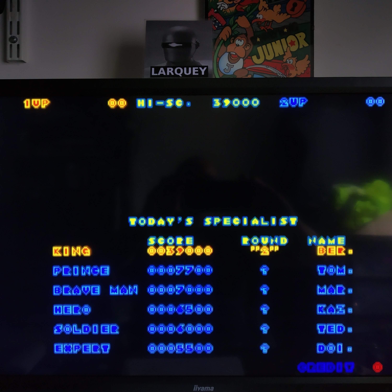 Larquey: Taito Legends 2: Nastar Warrior (Rastan Saga 2) [Medium] (Playstation 2 Emulated) 39,000 points on 2020-08-09 13:56:34