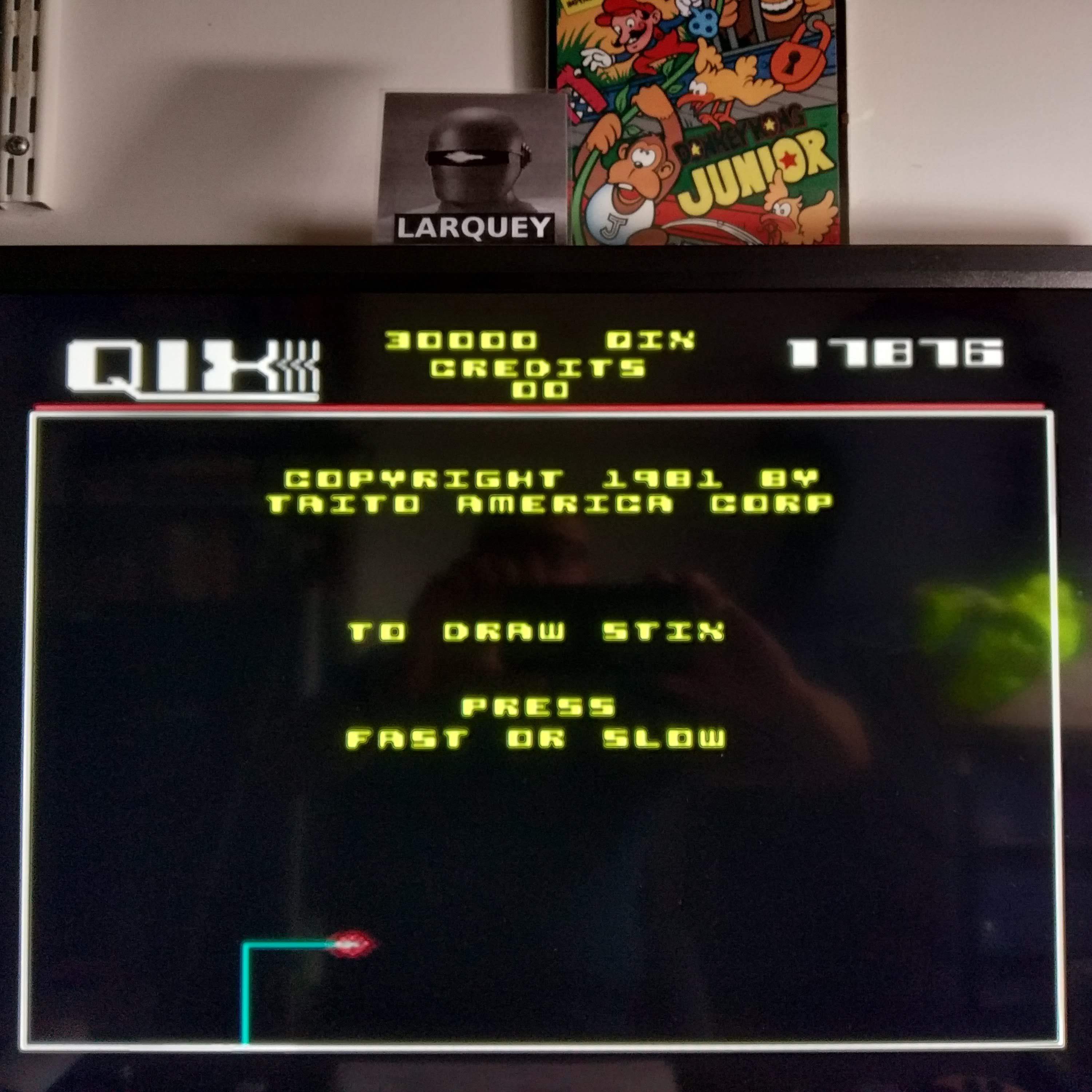 Larquey: Taito Legends 2: Qix [Easy] (Playstation 2 Emulated) 17,876 points on 2020-08-09 05:58:19