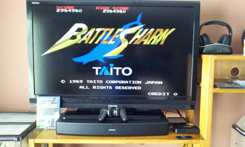Larquey: Taito Legends: Battle Shark [Medium] (Playstation 2) 2,984,980 points on 2018-01-23 11:57:08