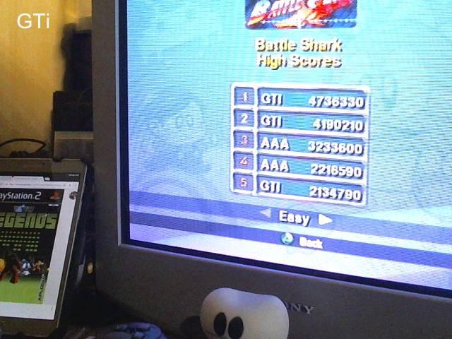 GTibel: Taito Legends: Battle Shark (Playstation 2) 4,736,330 points on 2017-09-01 09:10:38