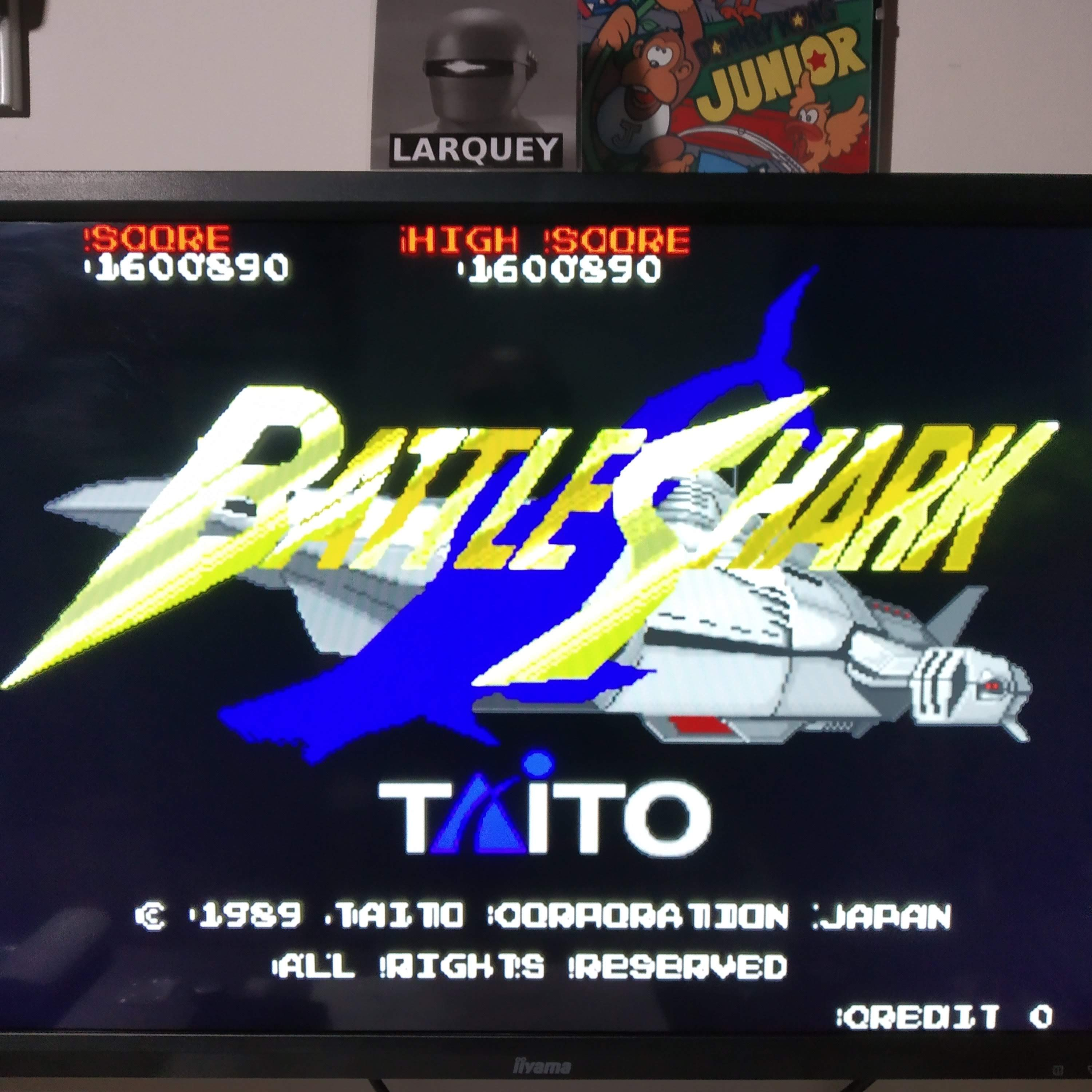 Larquey: Taito Legends: Battle Shark (Playstation 2 Emulated) 1,600,890 points on 2020-08-08 10:41:19