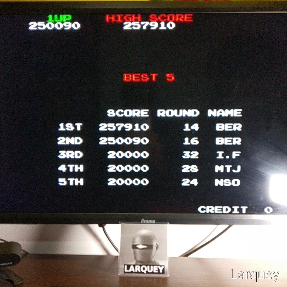 Taito Legends: Bubble Bobble 250,090 points