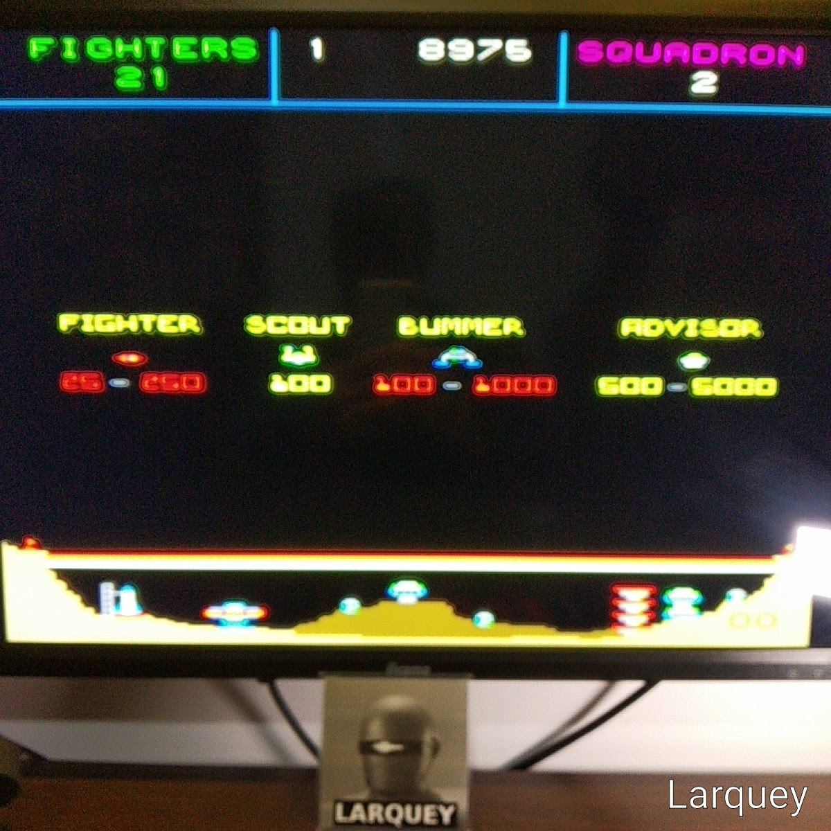 Taito Legends: Colony 7 [Difficult] 8,975 points