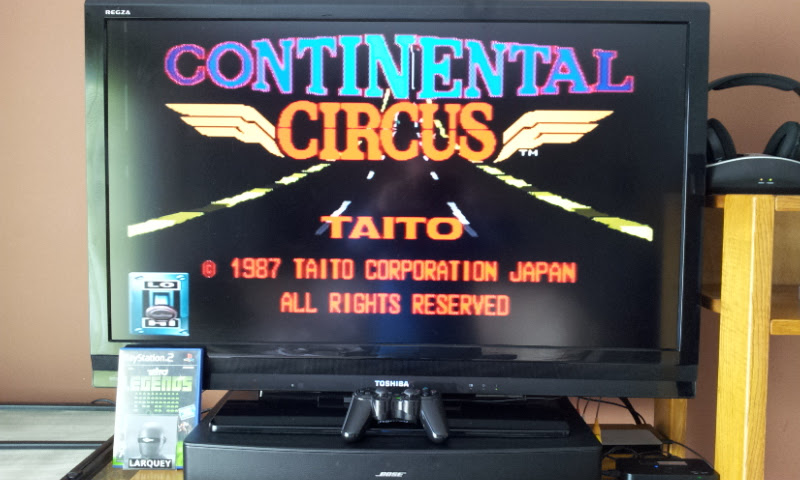 Larquey: Taito Legends: Continental Circus [Easy] (Playstation 2) 573,870 points on 2017-03-22 10:25:53