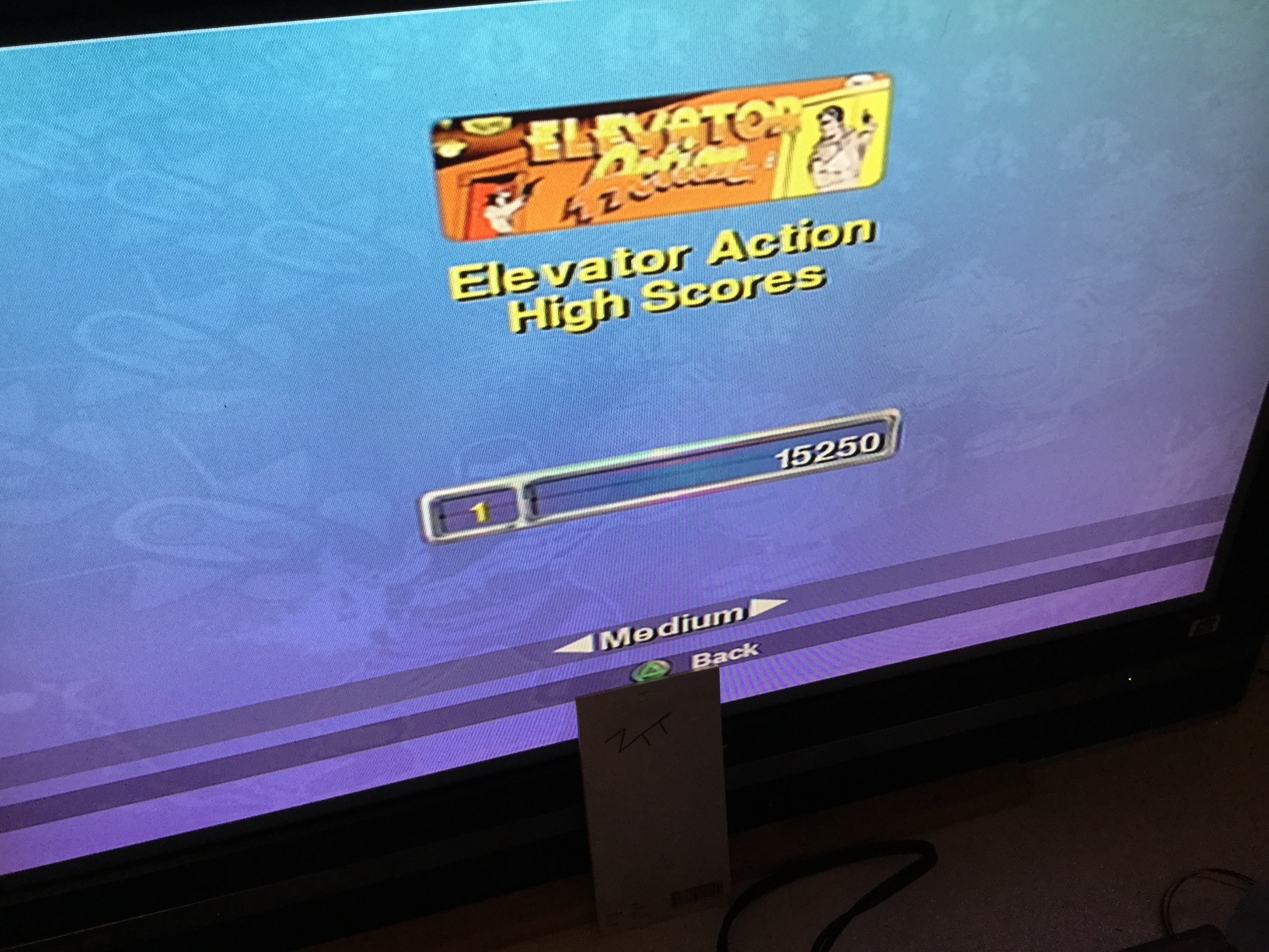 Frankie: Taito Legends: Elevator Action [Medium] (Playstation 2) 15,250 points on 2018-03-18 12:39:07