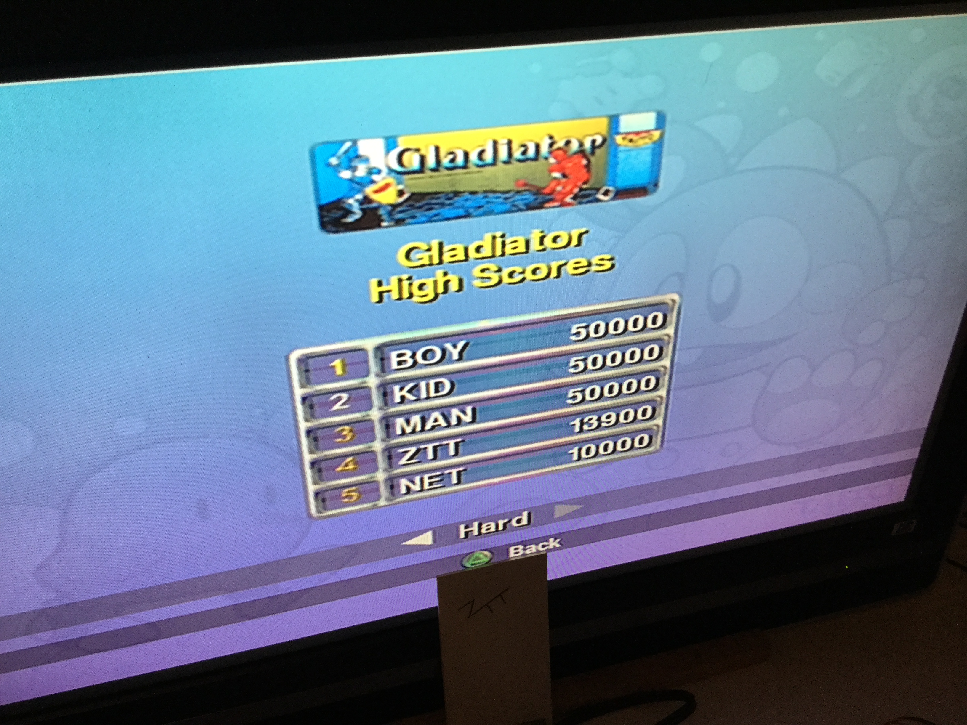 Frankie: Taito Legends: Gladiator [Difficult] (Playstation 2) 13,900 points on 2018-03-20 13:21:33