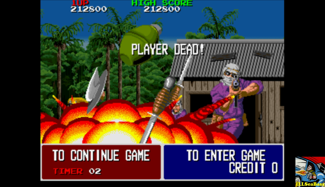 Taito Legends: Operation Thunderbolt 212,800 points