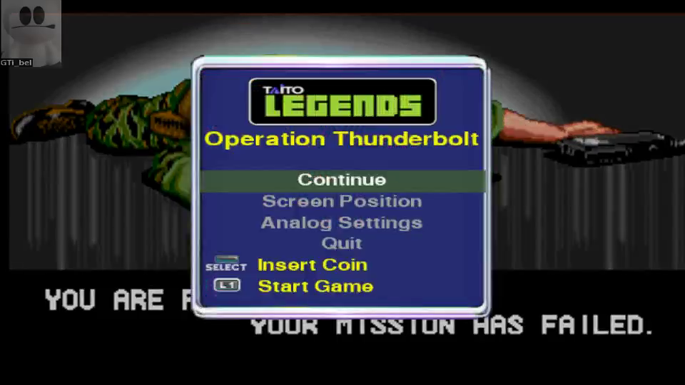 GTibel: Taito Legends: Operation Thunderbolt (Playstation 2 Emulated) 49,800 points on 2016-06-23 14:44:02