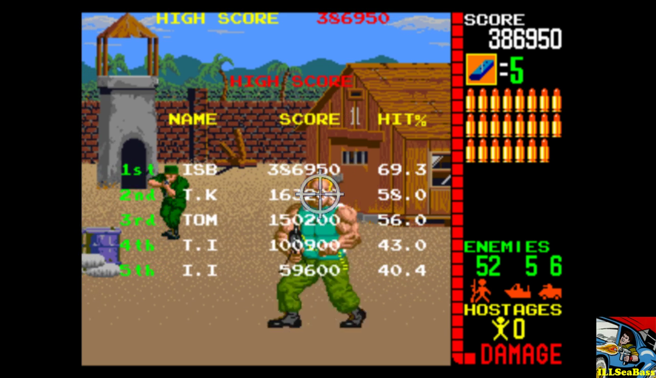 Taito Legends: Operation Wolf 386,950 points