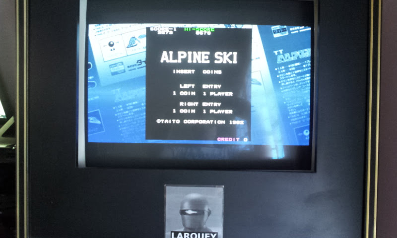 Larquey: Taito Legends: Power-Up: Alpine Ski (PSP Emulated) 9,579 points on 2018-04-26 02:46:28