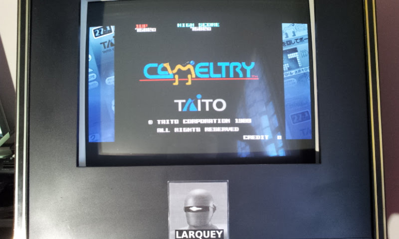 Taito Legends: Power-Up: Cameltry 75,820 points