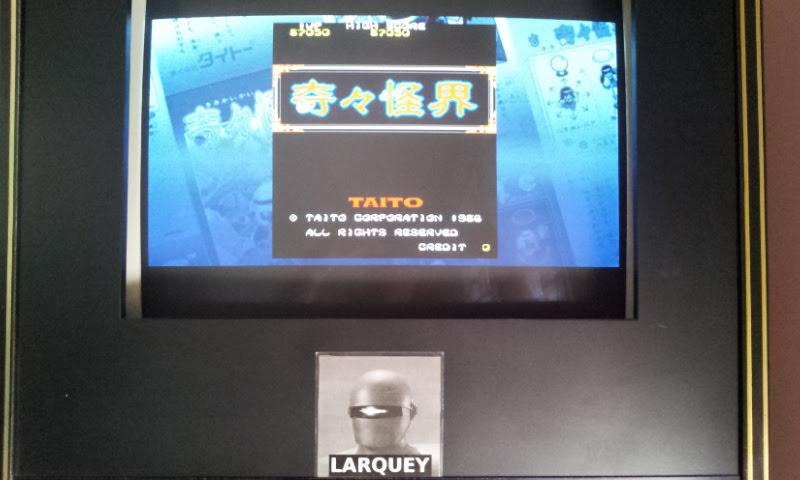 Larquey: Taito Legends: Power-Up: Ki Ki Kai Kai (PSP Emulated) 87,050 points on 2018-04-25 03:43:28
