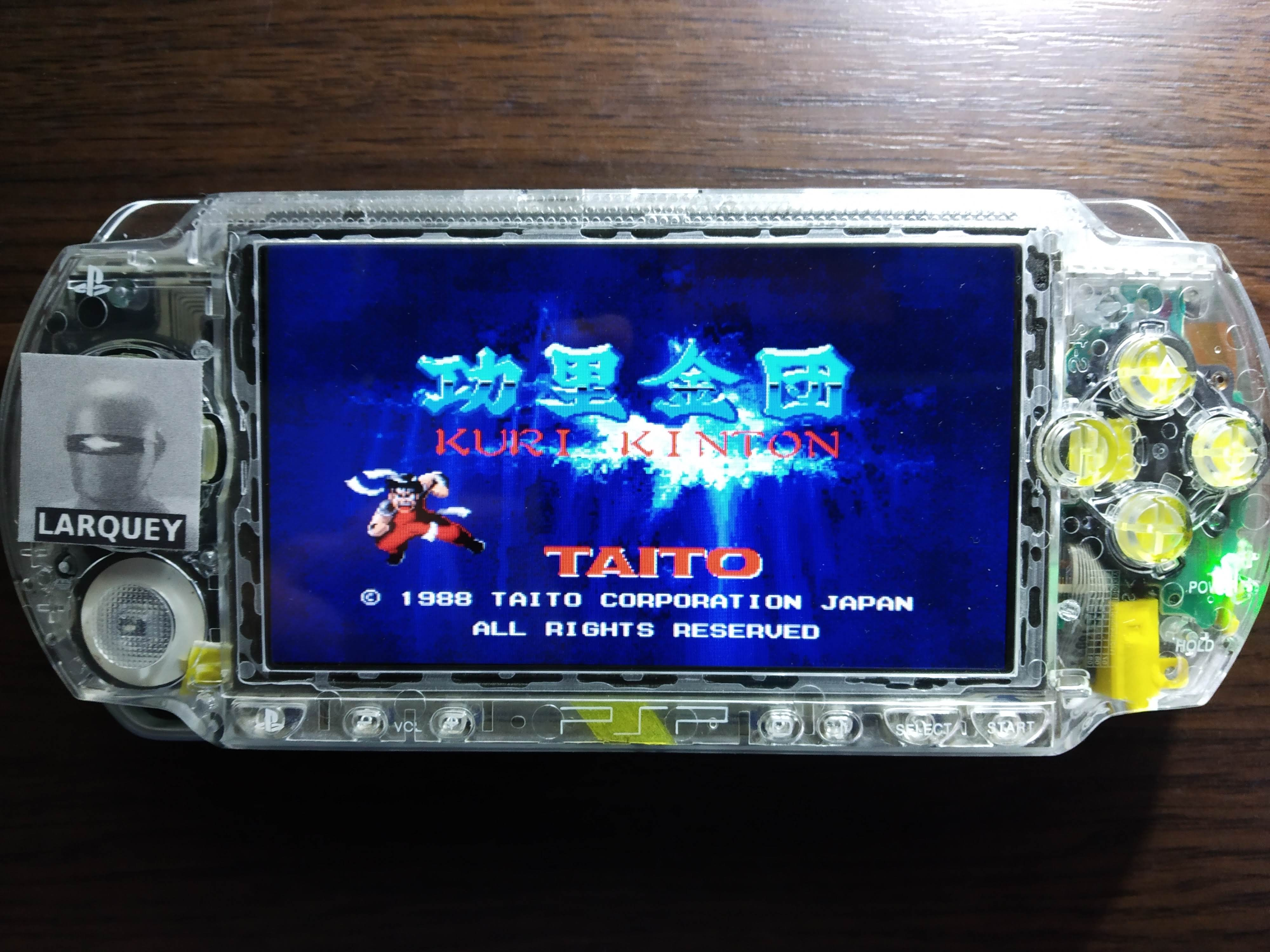 Larquey: Taito Legends: Power-Up: Kuri Kinton (PSP) 18,800 points on 2019-12-15 09:15:14