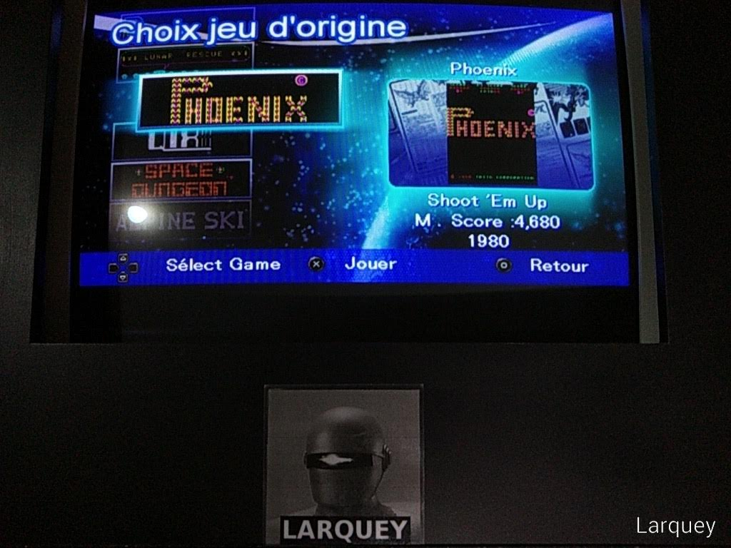 Larquey: Taito Legends: Power-Up: Phoenix (PSP Emulated) 4,680 points on 2019-09-14 12:23:35