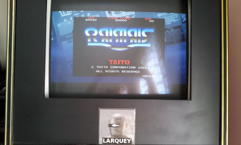 Larquey: Taito Legends: Power-Up: Raimais (PSP Emulated) 30,030 points on 2018-04-25 10:37:23