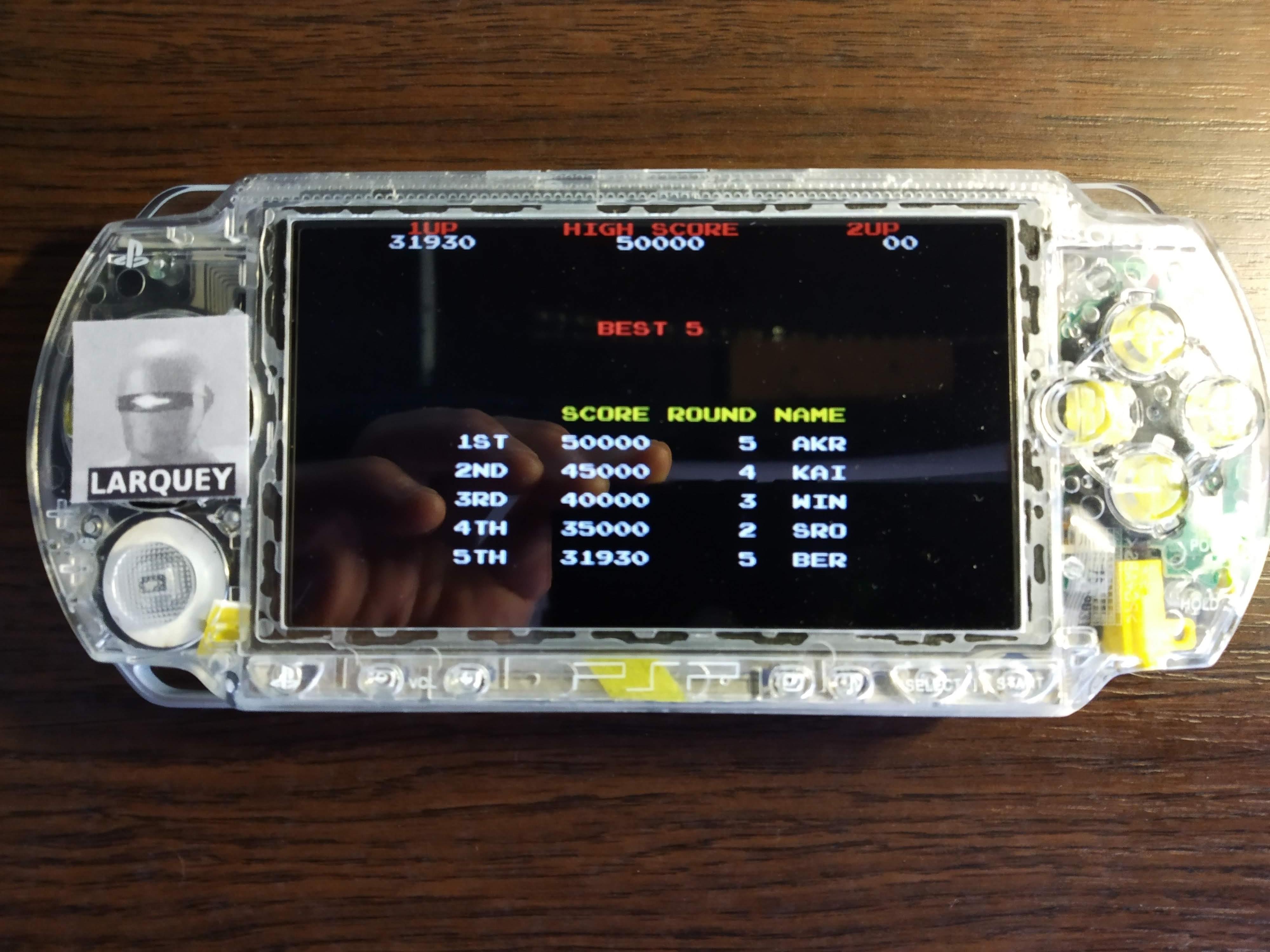 Larquey: Taito Legends: Power-Up: Raimais (PSP) 31,930 points on 2019-12-15 07:57:55