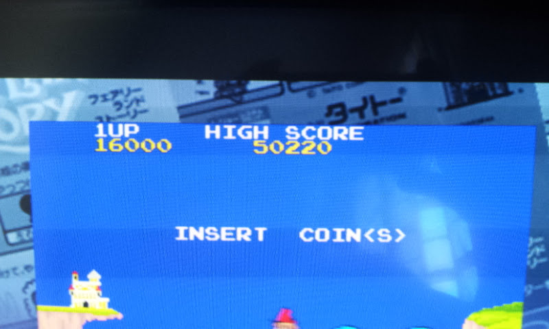 Taito Legends: Power-Up: The Fairyland Story 16,000 points