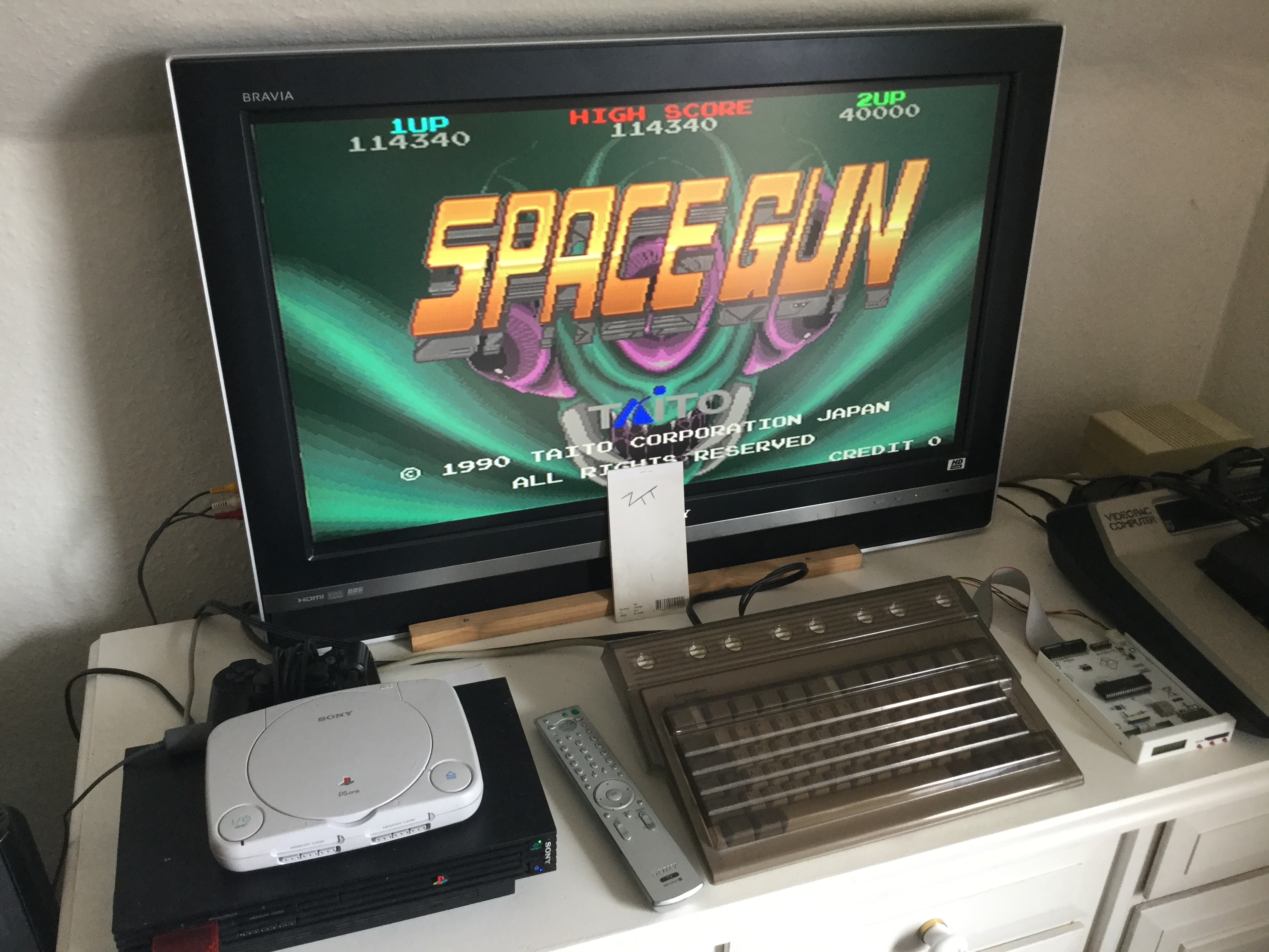 Frankie: Taito Legends: Space Gun [Easy] (Playstation 2) 114,340 points on 2018-03-31 06:14:05