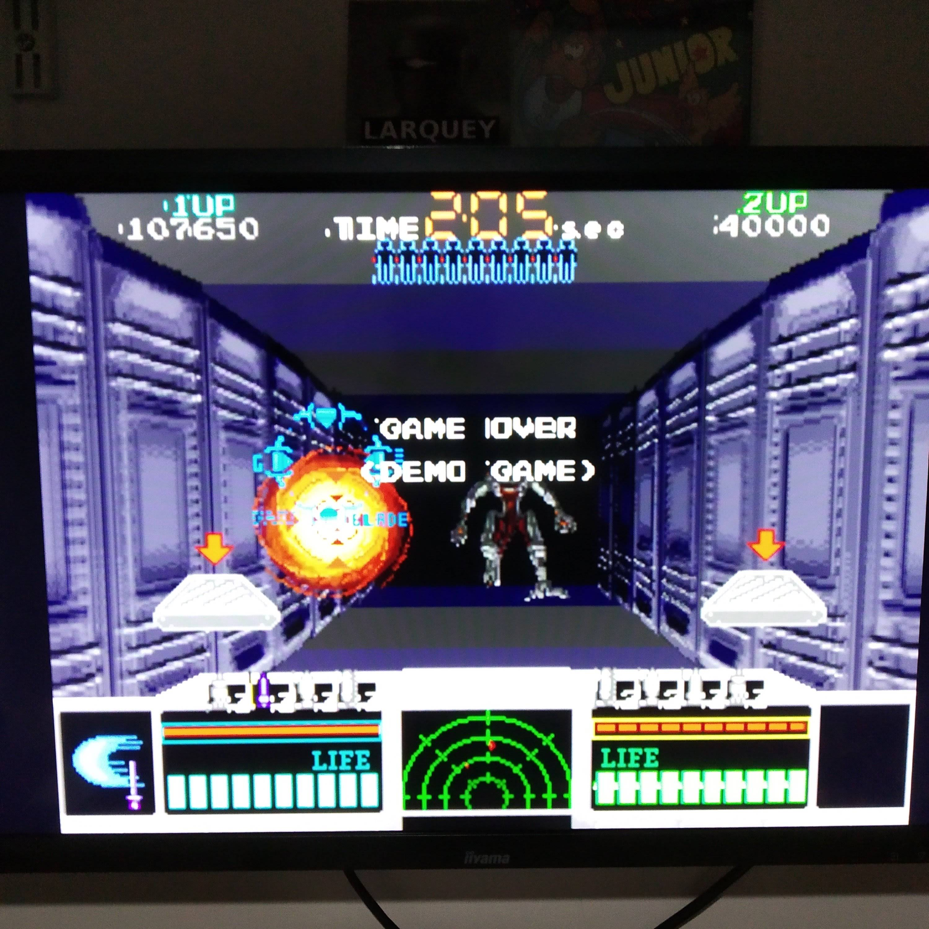 Larquey: Taito Legends: Space Gun [Easy] (Playstation 2 Emulated) 107,650 points on 2020-08-09 03:25:59
