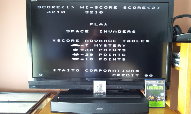 Larquey: Taito Legends: Space Invaders [Difficult] (Playstation 2) 3,210 points on 2017-10-15 08:23:35