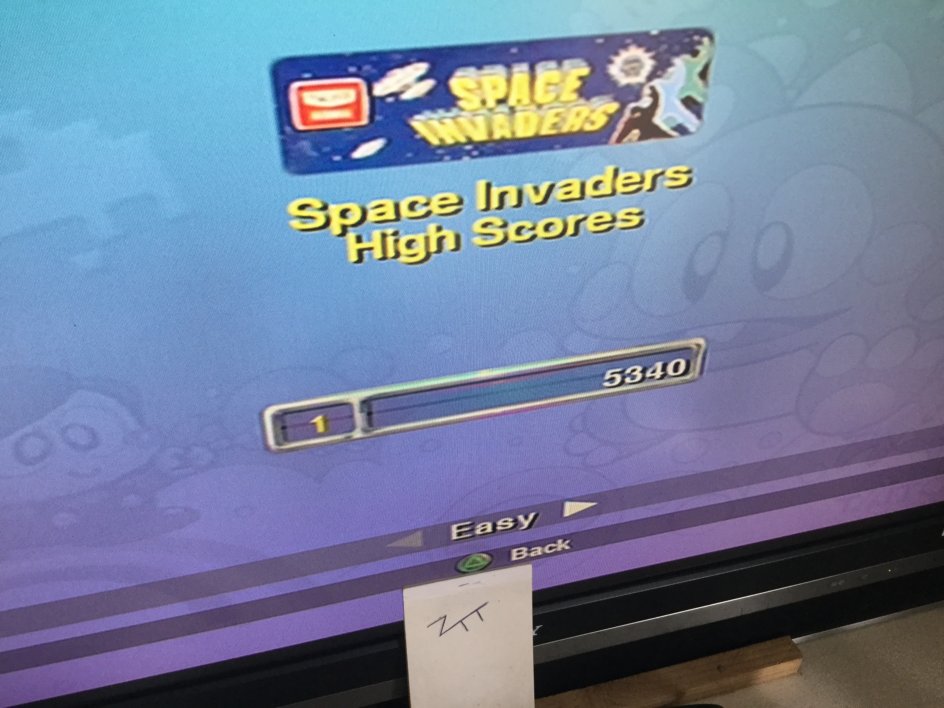 Frankie: Taito Legends: Space Invaders [Easy] (Playstation 2) 5,340 points on 2018-03-31 06:50:11