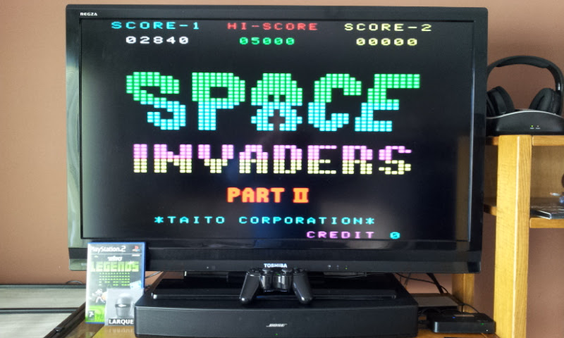 Larquey: Taito Legends: Space Invaders Part II [Easy] (Playstation 2) 2,840 points on 2017-03-25 10:52:34
