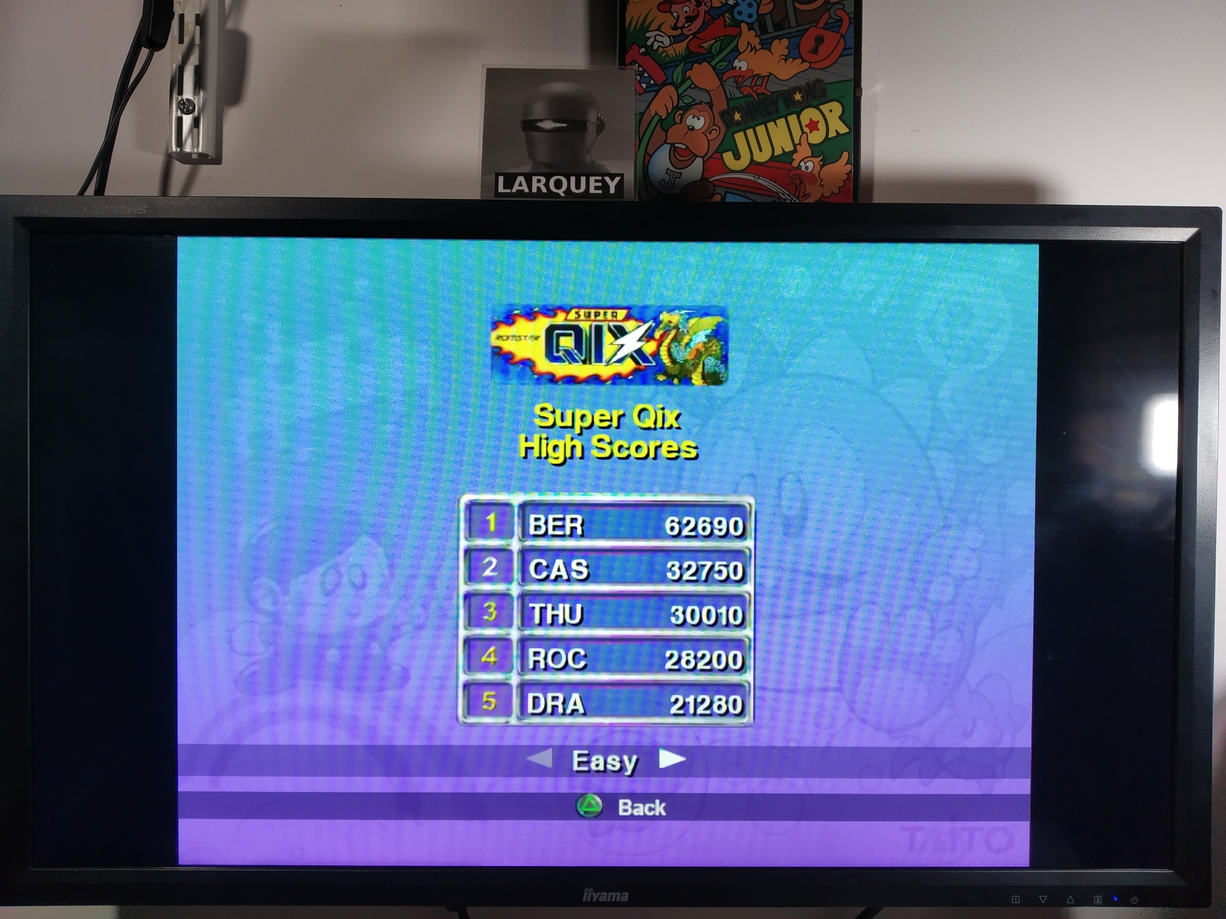 Larquey: Taito Legends: Super Qix [Easy] (Playstation 2 Emulated) 62,690 points on 2020-07-31 12:36:40