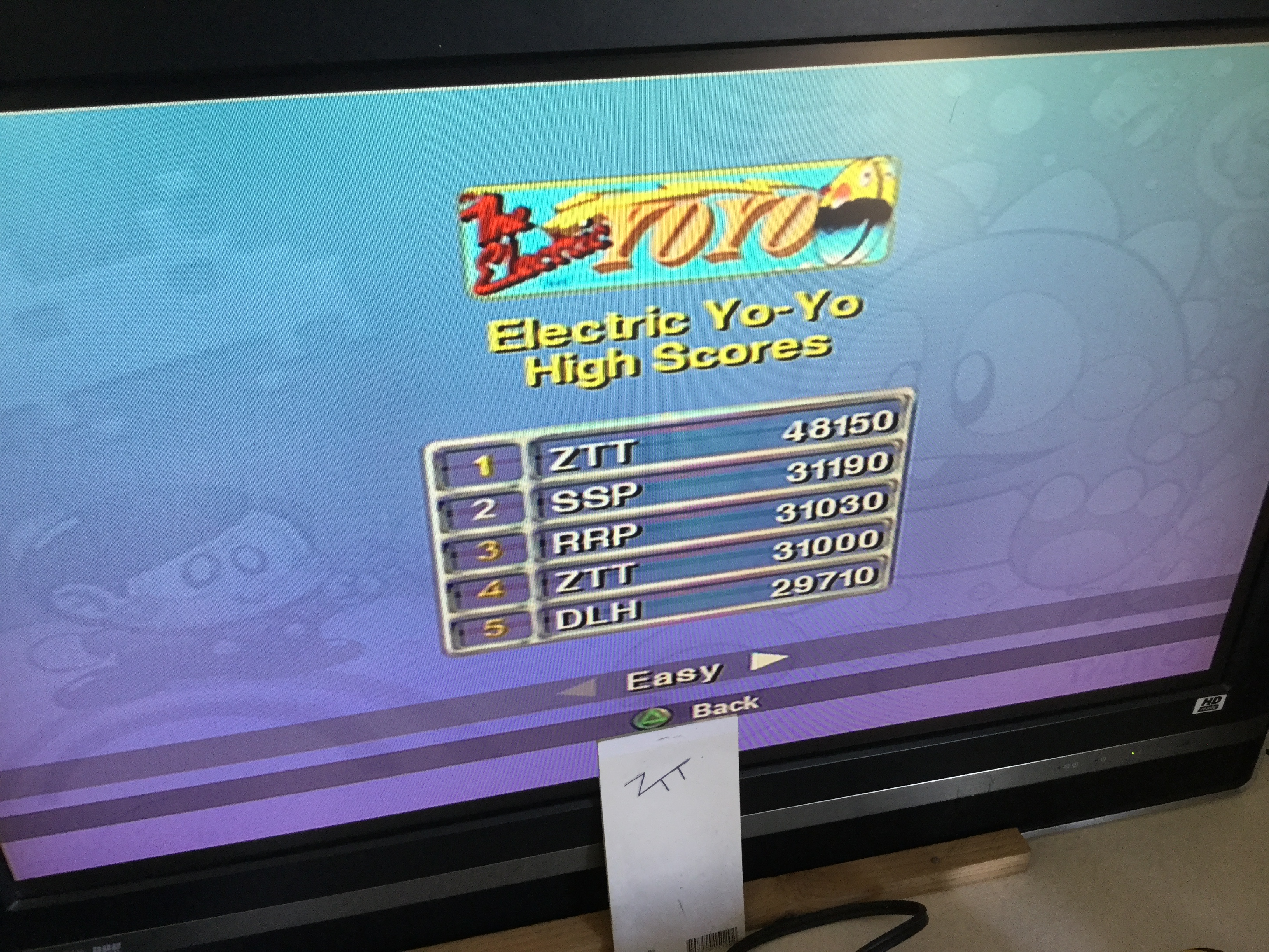 Frankie: Taito Legends: The Electric Yo-Yo [Easy] (Playstation 2) 48,150 points on 2018-03-18 08:20:44