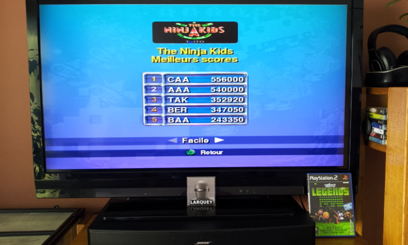 Larquey: Taito Legends: The Ninja Kids [Easy] (Playstation 2) 347,050 points on 2018-01-28 09:25:44