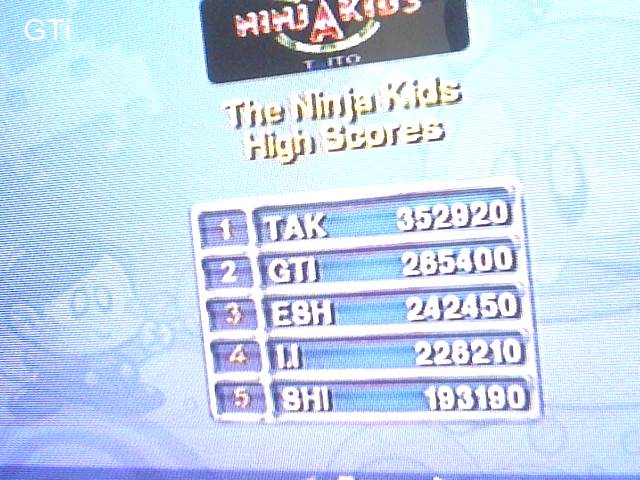 GTibel: Taito Legends: The Ninja Kids [Easy] (Playstation 2) 265,400 points on 2018-01-29 02:20:49