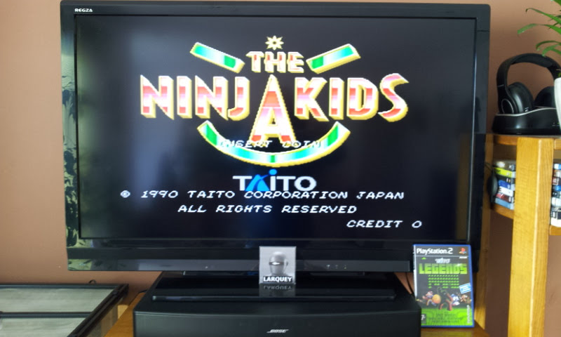 Larquey: Taito Legends: The Ninja Kids [Medium] (Playstation 2) 266,300 points on 2018-01-28 09:28:01