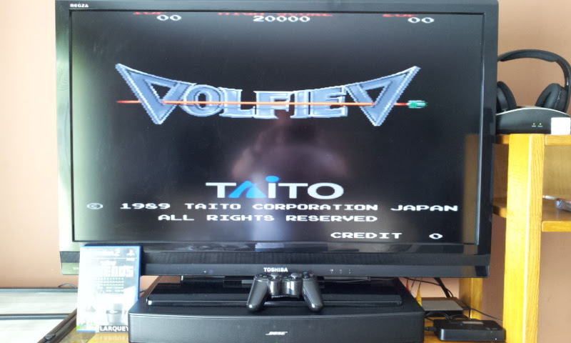 Larquey: Taito Legends: Volfied [Medium] (Playstation 2) 14,540 points on 2017-03-22 08:12:13