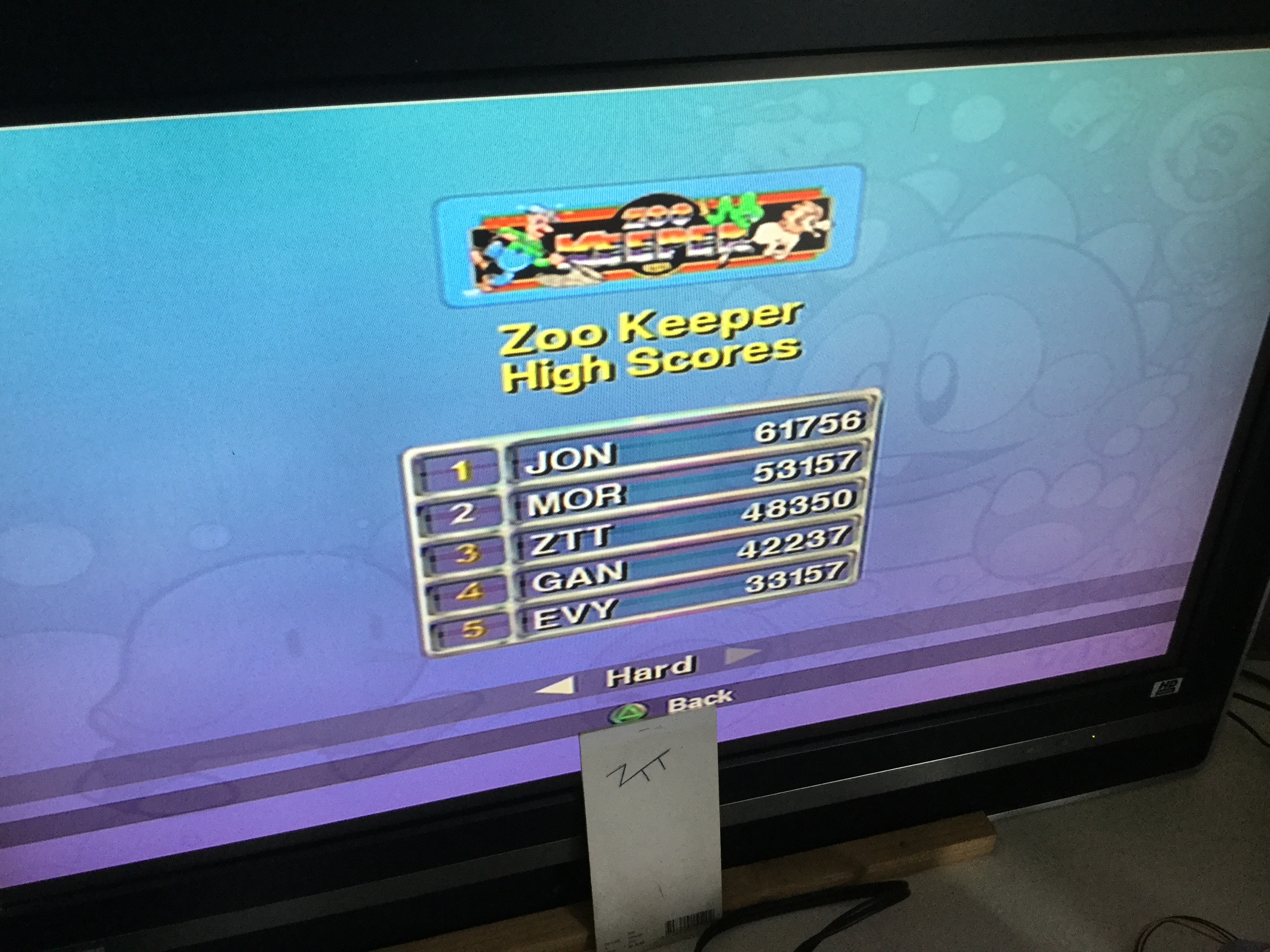 Frankie: Taito Legends: Zoo Keeper [Difficult] (Playstation 2) 48,350 points on 2018-04-04 11:22:12