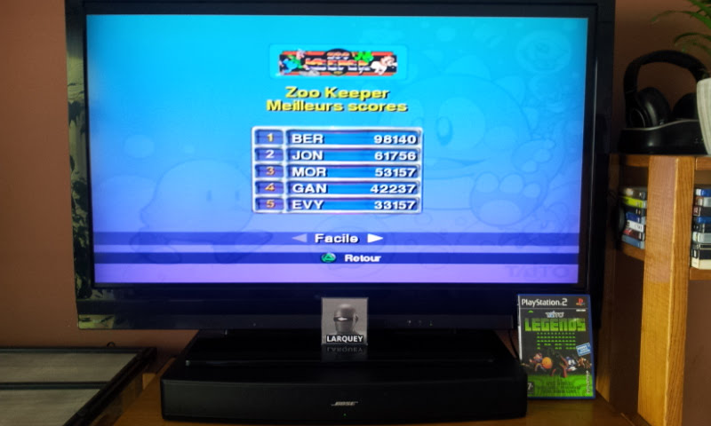 Larquey: Taito Legends: Zoo Keeper [Easy] (Playstation 2) 98,140 points on 2018-01-28 09:39:07