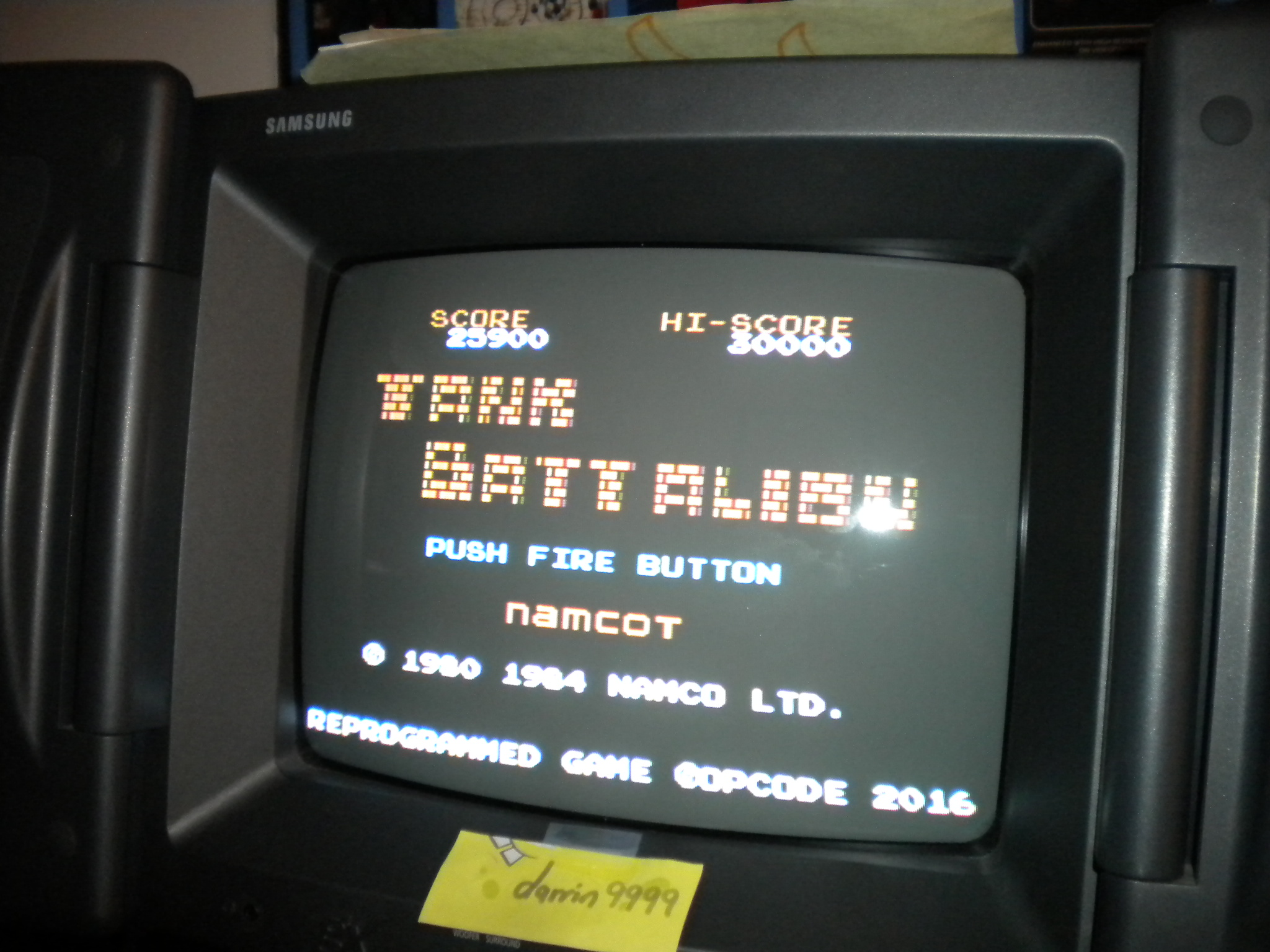 darrin9999: Tank Battalion (Colecovision) 25,900 points on 2017-05-12 07:14:11