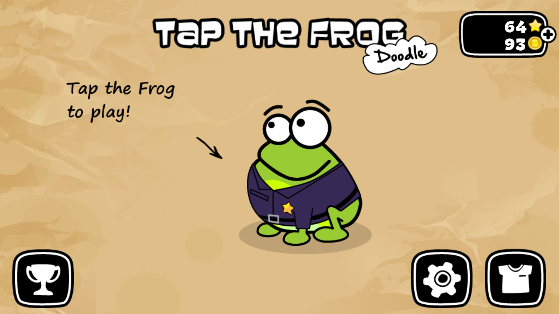 Bamse: Tap The Frog Doodle: Level 01 (Android) 349 points on 2019-08-21 16:24:09