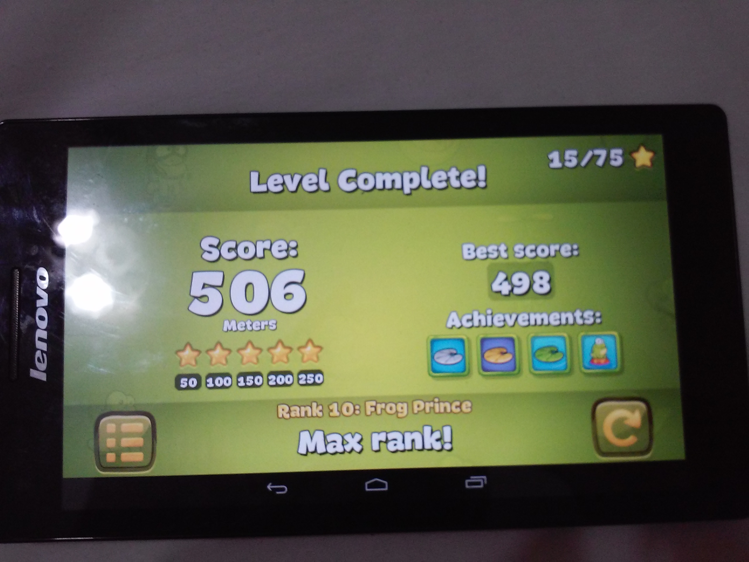 malikreten: Tap The Frog: Jump the Frog (Android) 506 points on 2016-07-28 15:14:38