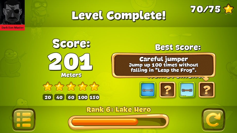 DarkEonMaster: Tap The Frog: Leap the Frog (Android) 201 points on 2015-07-10 17:57:42