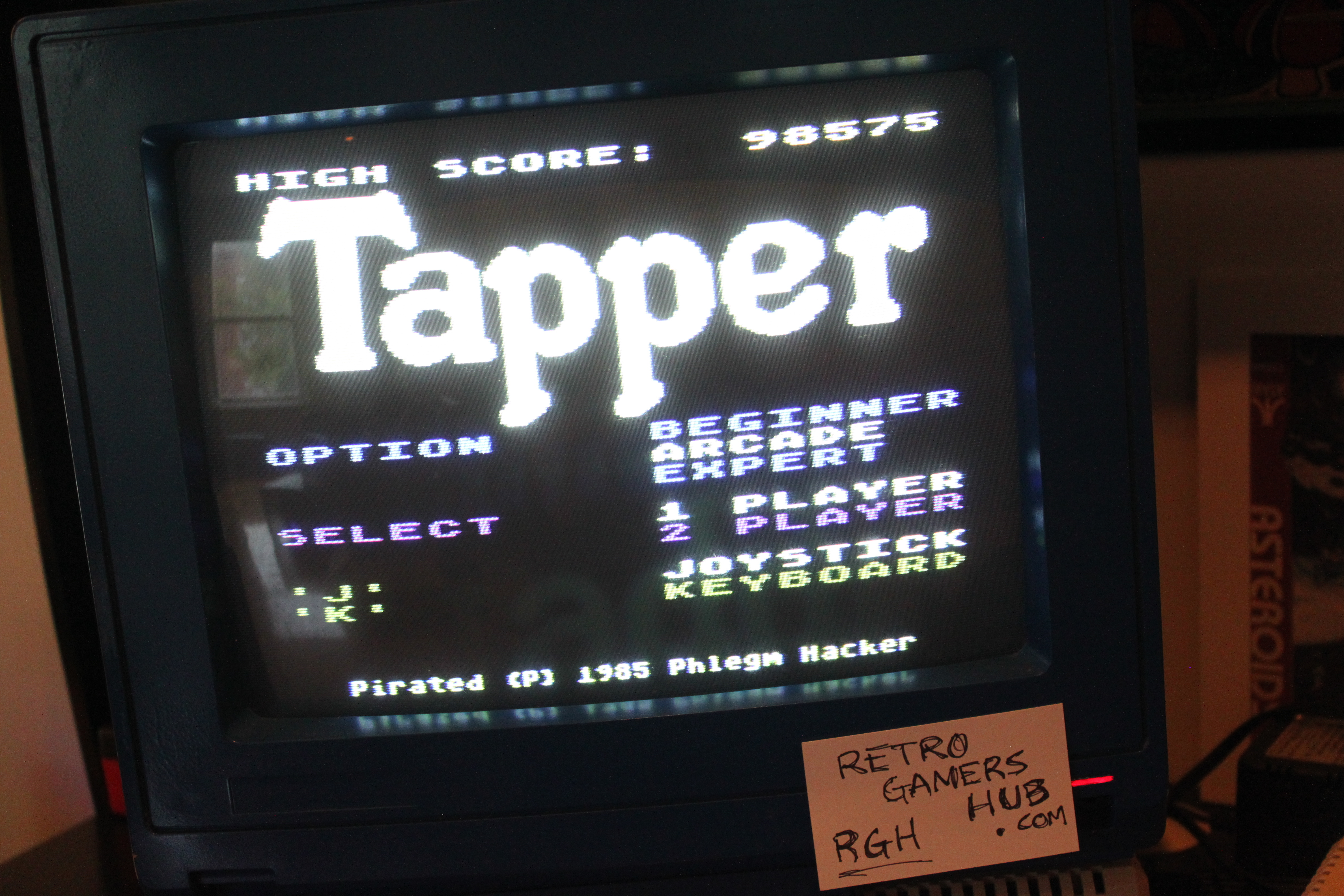 Tapper [Arcade] 98,575 points
